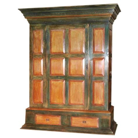 Painted Armoire For Sale by Painted Armoire For Sale At 1stdibs