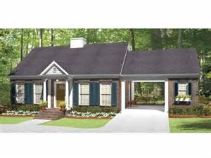 House With Carport Country House Plan With 815 Square Feet And 1 Bedroom From