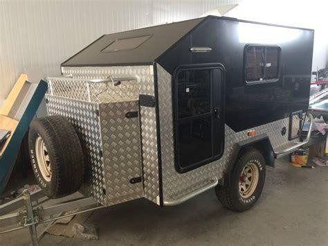 offroad travel trailers offroad cer trailer teardrop cer caravan in lawnton