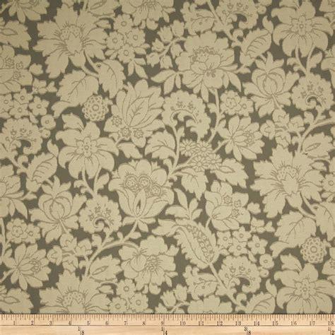 jacquard upholstery duralee carol floral jacquard taupe discount designer