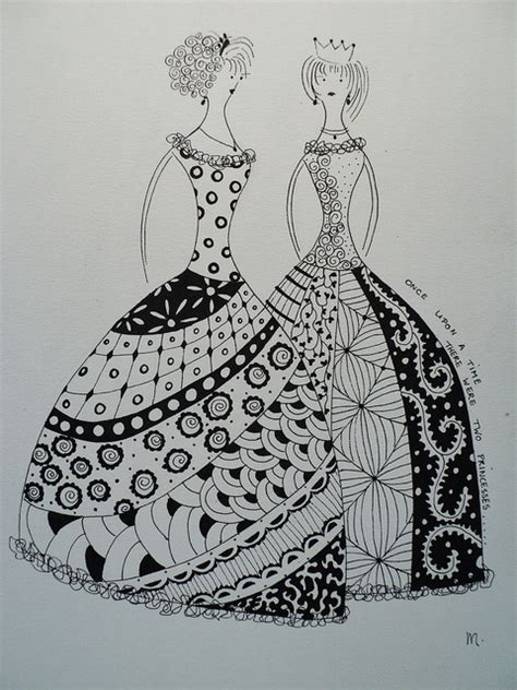 doodle glam drawing 42 best zentangle clothes images on doodles