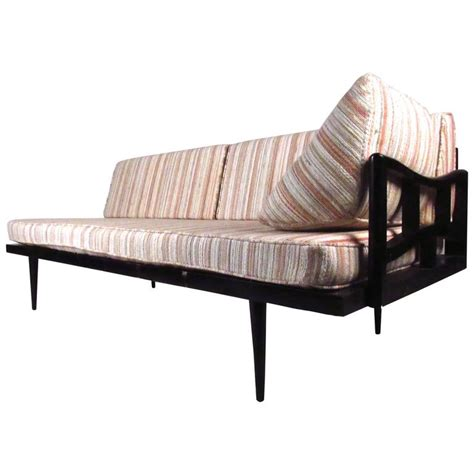 modern daybed unique mid century modern daybed settee at 1stdibs