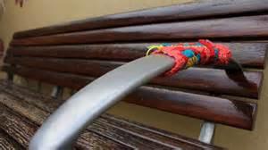 spray painter ballarat yarn bombers rug up ballarat for winter abc ballarat