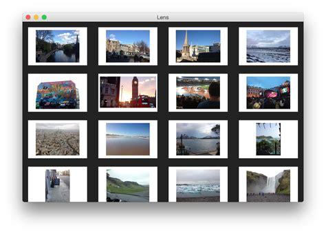 lens app paulbjensen lens photo app a desktop photo app created