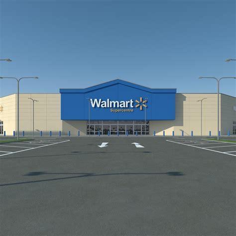 Walmart Parking Lot | 3ds max walmart parking