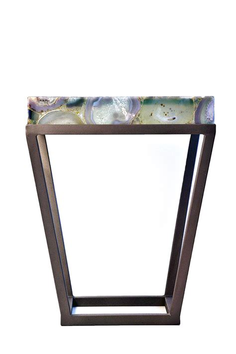 jemagate agate side table mecox gardens