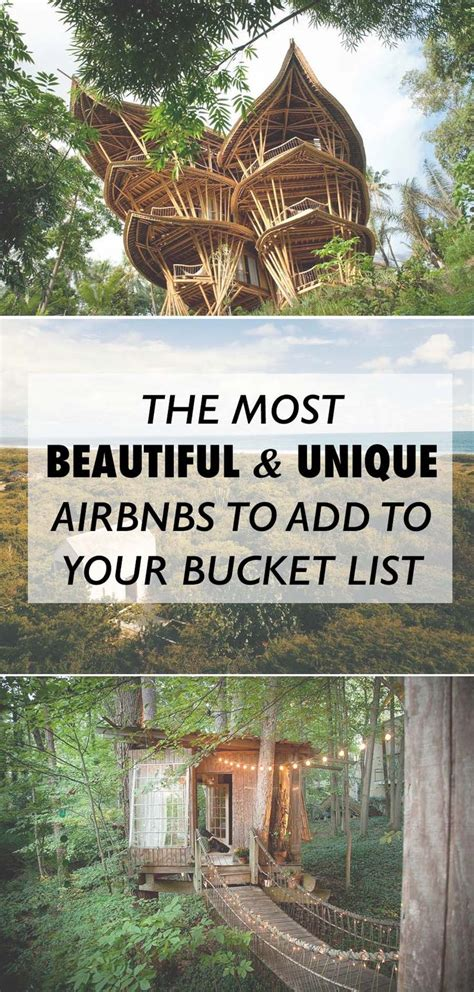 unique airbnbs best 25 bucket lists ideas on pinterest bucketlist