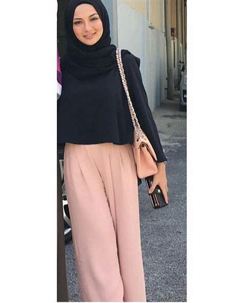 tutorial hijab simple ootd ootd simple chic hijab cute yong stunning lovely pants