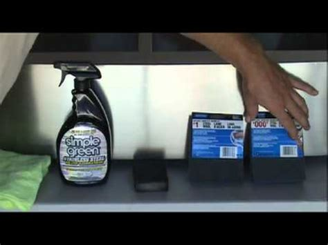 remove scratches from stainless steel how to remove scratch from stainless steel sink youtube