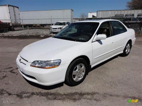 1998 honda accord white taffeta white 1998 honda accord ex v6 sedan exterior photo