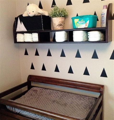 changing table supplies best 20 changing table storage ideas on