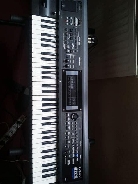 Keyboard Roland Gw 8 roland gw 8 image 619810 audiofanzine