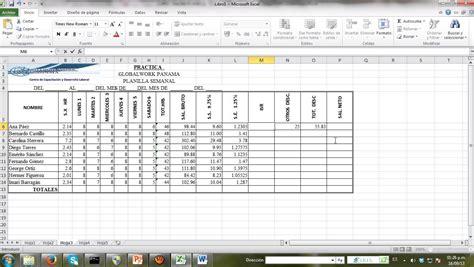 planilla de excel para previsiones de pagos planilla de pago en excel ejemplos excel 2010 planilla 4