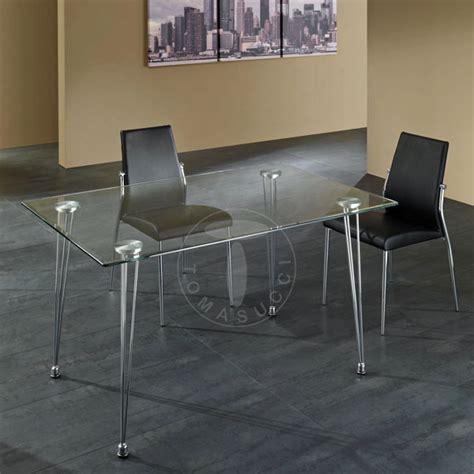 tavolo tomasucci tomasucci tavolo scrivania matra piano vetro trasparente