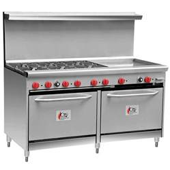Commercial Cooktop Gas Cooking Performance 60 Cpgv 6b 24g S26 6
