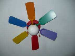 ceiling fan rainbow colors 10 room