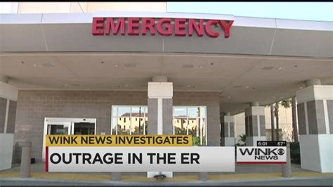emergency room fort myers wink news investigates swed emergency rooms wink news