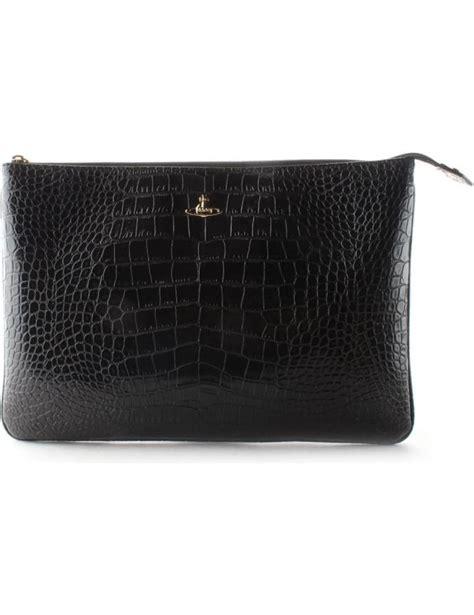 Sale Clutch Ck Croco vivienne westwood jungle croc s clutch bag black