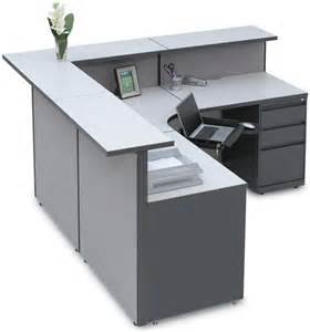 L Shaped Receptionist Desk 1 849 L Shaped Reception Desk By Space Max 800 460 0858