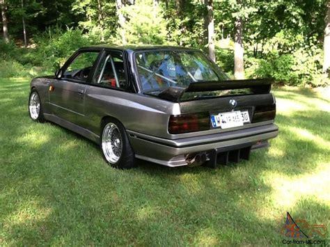 Bmw E30 Turbo by Bmw E30 M3 Turbo Drift