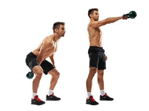 kettlebell squat swing 3 exercises you should be doing to improve strength and