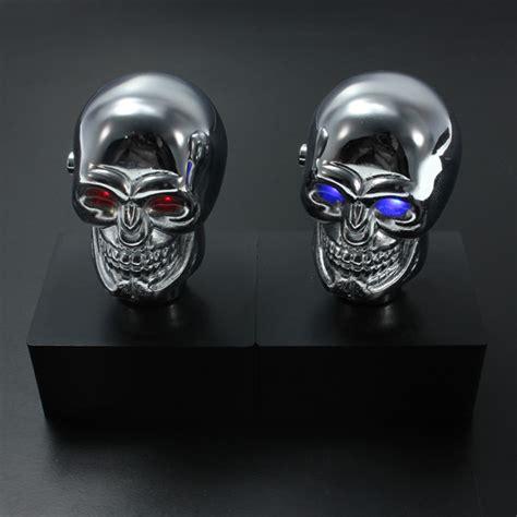 Skull Shifter Knob by Car Chrome Skull Auto Manual Gear Stick Shift Knob Lever