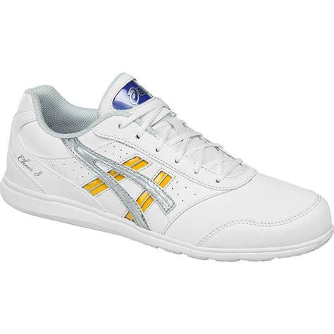 asics cheer shoes asics cheer 8 womens cheer shoe multi q654y 0193