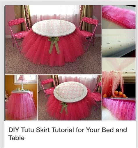 Diy Table And Bed Tutu by Diy Tutu Skirt For Bed Or Table Trusper
