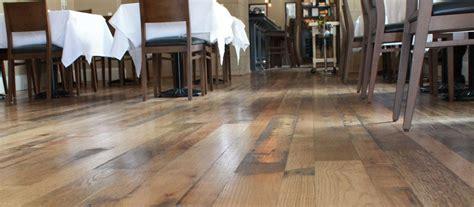 wood floors for restaurants and bars elmwood reclaimed