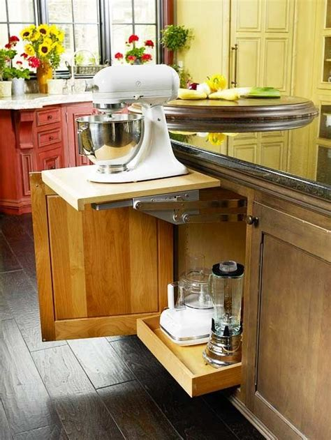 Kitchen Aid Cabinets Kitchen Cabinets That Store More Kitchen Aid Mixer