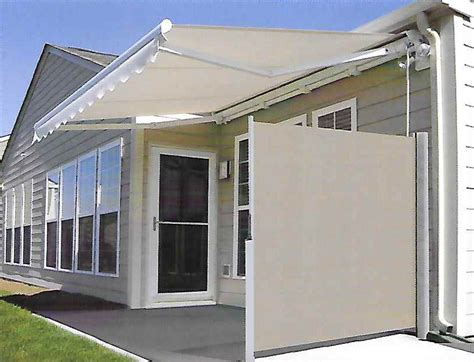 Motorized Awnings For Decks Horizontal Shades L F Pease Company
