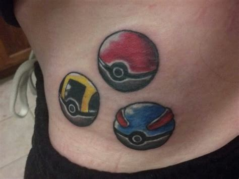 pokeball tattoo pokeball by umbreon67 on deviantart