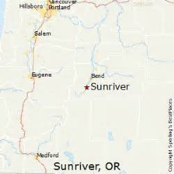 best places to live in sunriver oregon