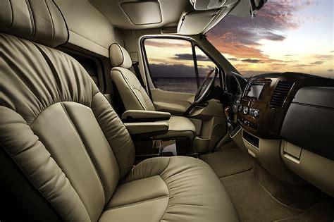 luxury minivan interior mercedes conversion luxury midwest automotive designs