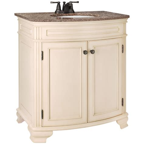 rsi bathroom cabinets rsi bathroom vanities shop estate by rsi wheaton chestnut 48 in traditional bathroom