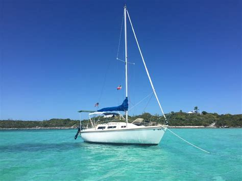 1986 Catalina Swing Keel Sailboat For Sale In