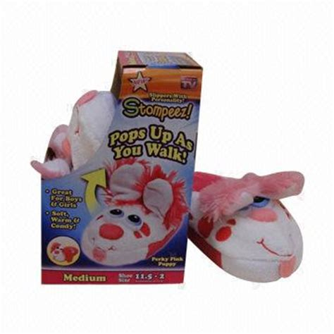 pop up as seen on tv as seen on tv slippers pink puppy pop up as users