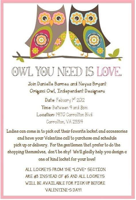 Origami Owl Template - origami owl flyers invitations ideas