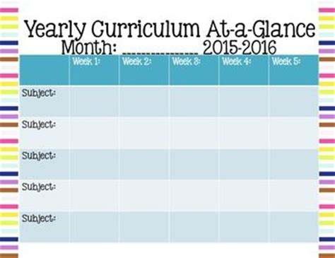 ojays curriculum fields pinterest