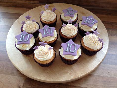 Wedding Anniversary Cupcakes by 10th Wedding Anniversary Cupcakes My 10th Year