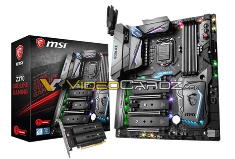 Msi Z370 Gaming M5 Intel Lga1151 Coffee Lake Mainboard Motherboard msi komt met high end z370 godlike gaming moederbord computer nieuws tweakers