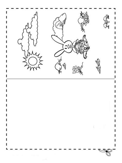 Desenhos para colorir de coelhos de páscoa
