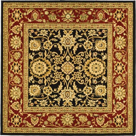 area rugs 8 ft safavieh lyndhurst black 8 ft x 8 ft square area rug