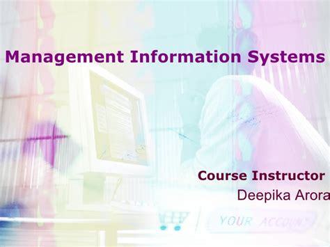 Mba Management Information Systems by Mba Module Mis