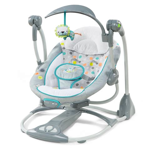 swing and bouncer set ingenuity ridgedale collection playard swing high chair