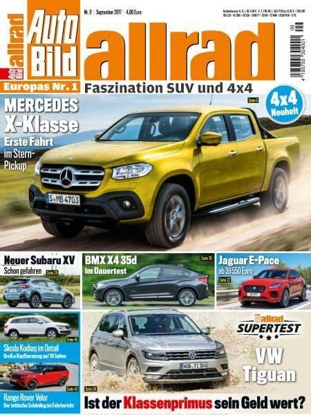 Auto Bild Allrad 11 2017 by Auto Bild Allrad September 2017 Pdf Free