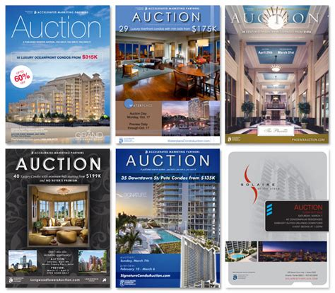 Auction Brochure Template metropolis advertising and design works