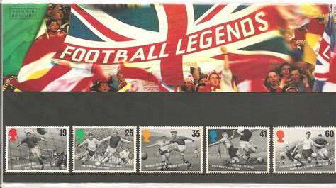 Great Britain 1996 European Football Chionship Sts Set 1996 football presentation pack number 267