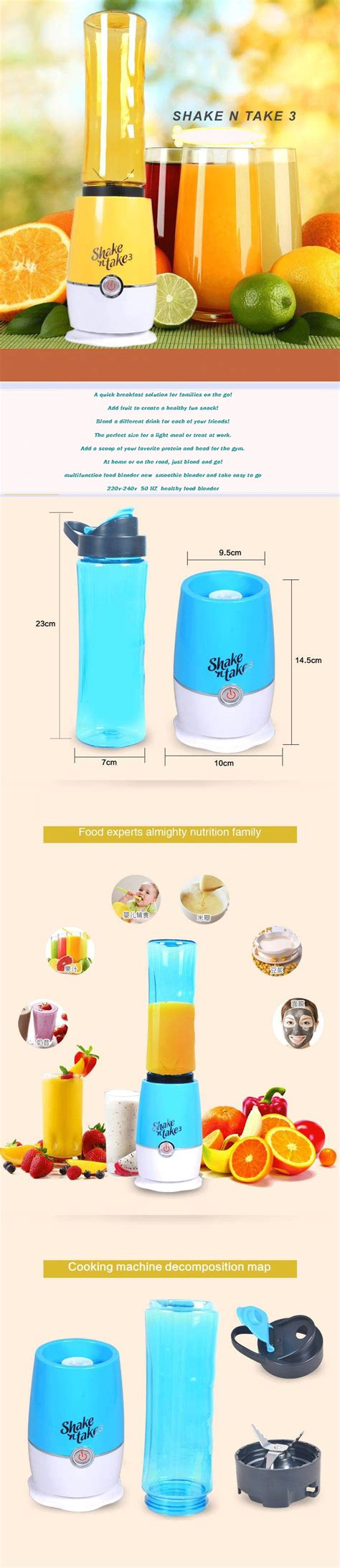 Mini Blender Shake N Take 3 Hello Kittalat Membuat Minuman Juice Buah buy lowest price ready stock fast delivery brand new