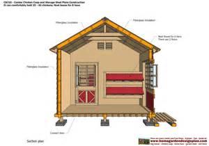 sntila cb210 combo plans chicken coop plans construction